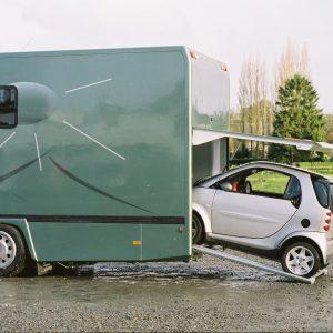 Vans Chardron camping cars haut de gamme avec garage pour voiture