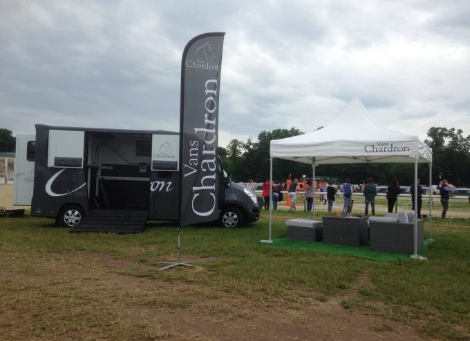 Chardron present au Longines global Champions Tour Chantilly