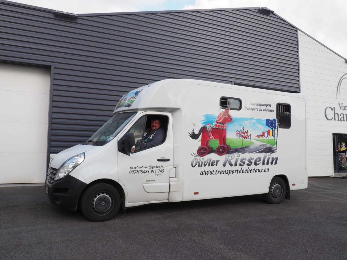 Vans Chardron Transports Olivier Risselin