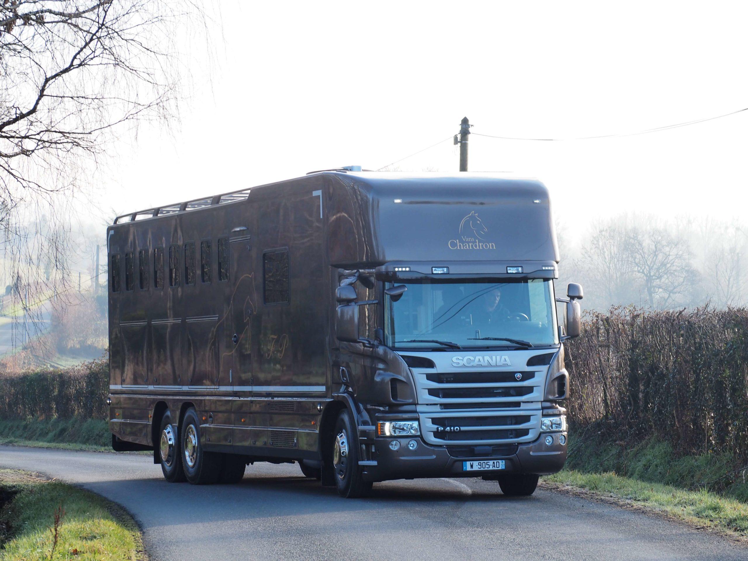 Camion chevaux confort