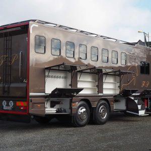 Carrosserie chevaux sur Scania