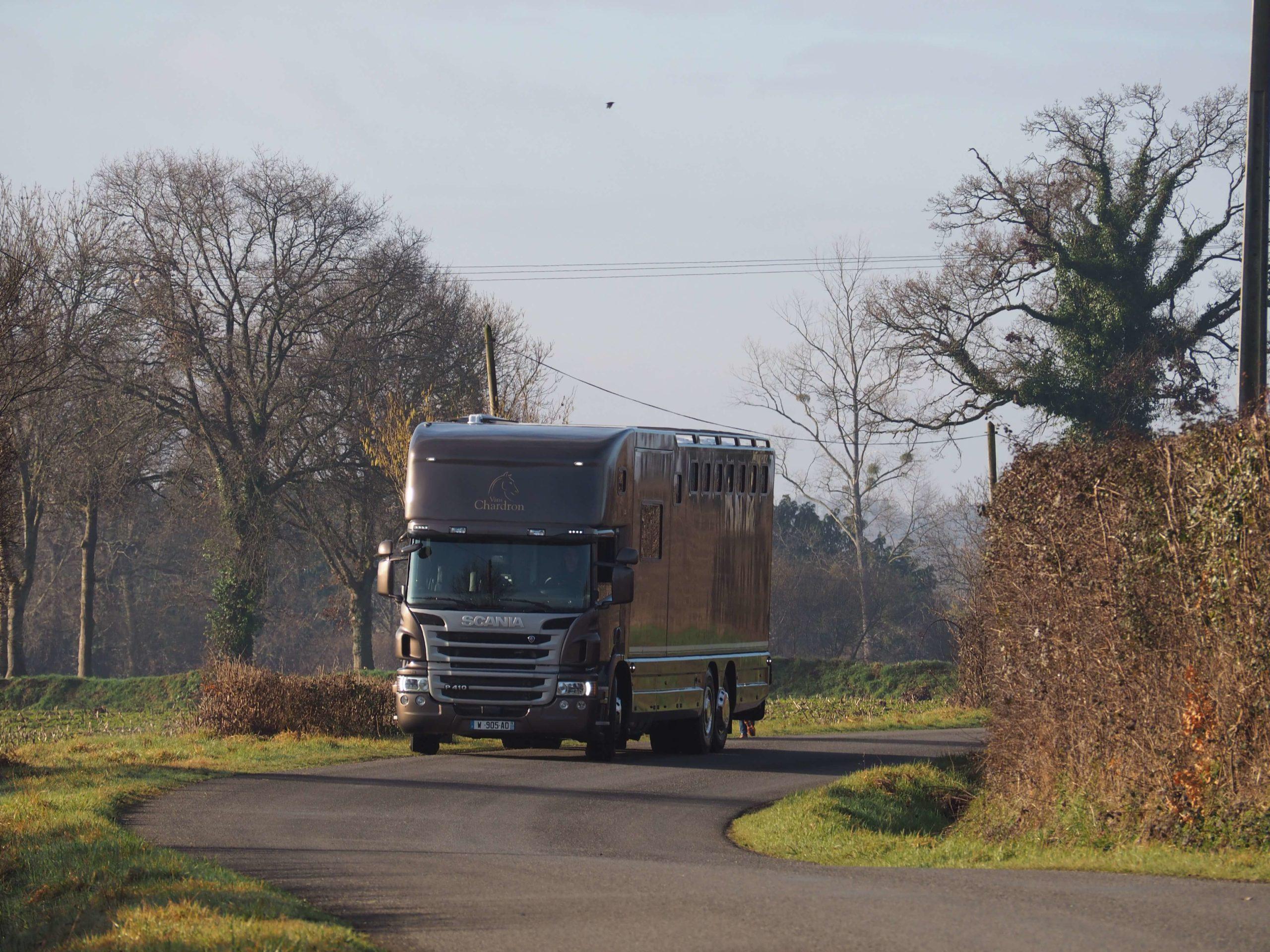 Transportez vos chevaux en Chardron