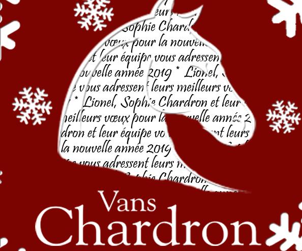 Joyeuses fêtes de fin d'année des vans Chardron